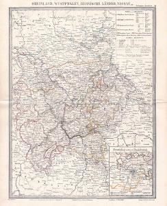 MAPA - PORÝNÍ - VESTFÁLSKO - CCA 1910 - 28-LW97