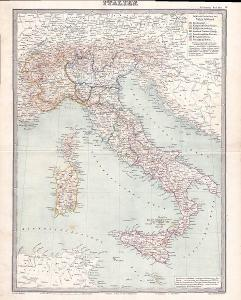 MAPA - ITALIE - CCA 1910 - 30-LW6
