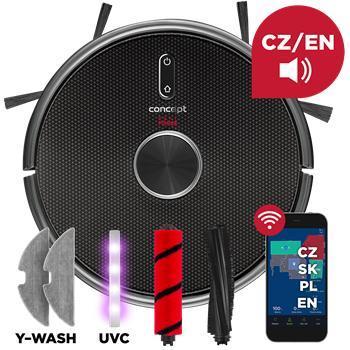 Robotický vysavač Concept Perfect Clean VR3210 šedý  -NOVÉ, 100%, AKCE