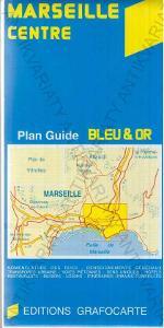 Marseille centre mapa