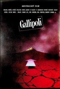 Gallipoli Zdeněk Vlach filmový plakát Mel Gibson
