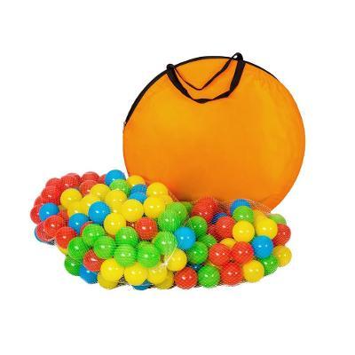 tectake 401027 dětský stanový set se spojovacím tunelem s 200 míčky -