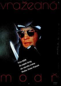 Vražedná modř Milan Pecák film plakát Patzak