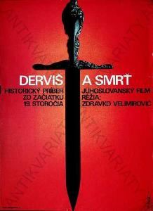 Derviš a smrť Zdeněk Vlach film plakát