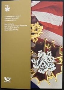"""POF. A 1101-1104 - DÁRKOVÉ DESTIČKY """"ŘÁDY A MEDAILE"""" (S1204)"""