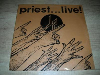 Judas Priest ‎– Priest... Live! (1987) 2xLP , 1.Press ,EX
