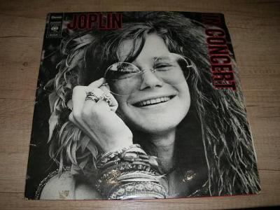 Janis Joplin ‎– Joplin In Concert (1972) 2xLP ,1.Press !!!