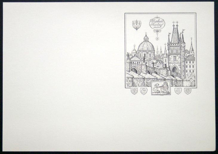 1988 (ČSSR) - Černotisk - BRUSEL 88, Josef Herčík, (4843) - Filatelie