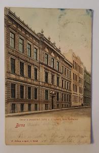 Stará pohlednice / dopisnice / pohled BRNO