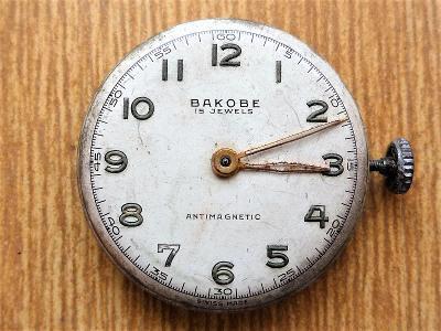 Strojek do náramkových hodinek BAKOBE #532