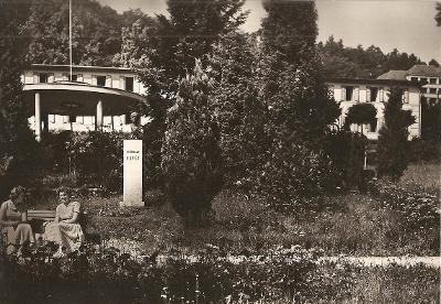 TEPLICE NAD BEČVOU - lázně - Malý pavilon - Hranice - Přerov