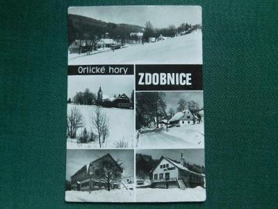Orlické Hory - Zdobnice - okres Rychnov nad Kněžnou (velký formát)