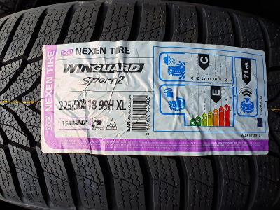 225/50R18 99H XL WinGuard Sport 2 NEXEN