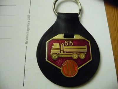 Tatra 815 přívěšek zlatočervený