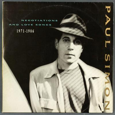 LP Paul Simon - Negotiations and love songs, 2LP