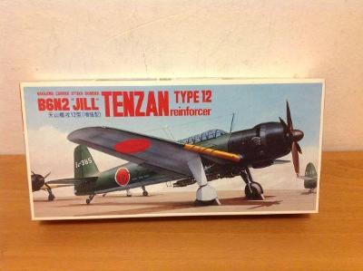 "FUJIMI - Nakajima B6N2 ""JILL"" Tenzan Type 12 + doplňky Eduard, 1/72"