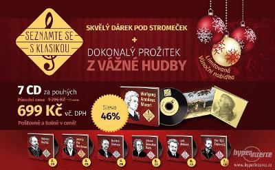 SEZNAMTE SE S KLASIKOU (7 CD + 3 DÁRKY) 62 % SLEVA
