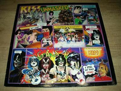 Kiss – Unmasked (1980)  1.Press , EX +