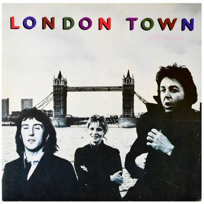 Gramofonová deska WINGS - London town