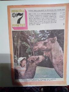 Časopis, Sedmička, č. 3/1972, zachovalý stav