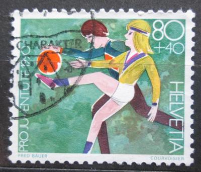 Švýcarsko 1990 Dětské hry Mi# 1433 0711