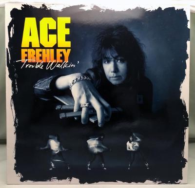Ace Frehley – Trouble Walkin' 1989 Germany Vinyl LP 1.press