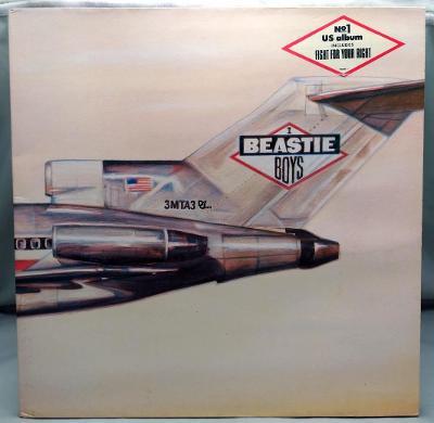 Beastie Boys – Licensed To Ill 1986 Holland Vinyl LP 1.press