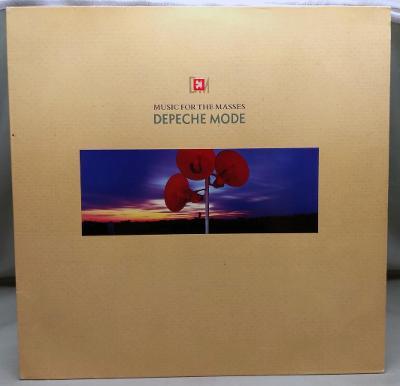 Depeche Mode – Music For The Masses 1987 Germany Vinyl LP Blue Vinyl