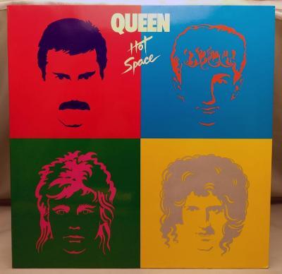 Queen – Hot Space 1982 Holland Vinyl LP 1.press