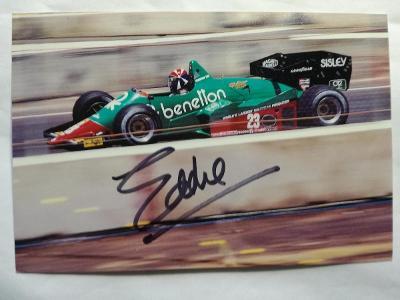 Autogram podpis Cheever Eddie