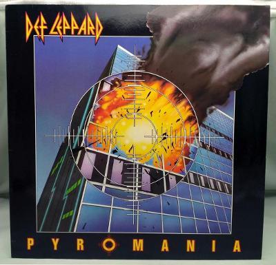 Def Leppard – Pyromania 1983 Germany Vinyl LP 1.press