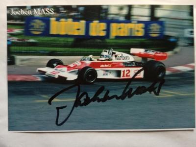 Autogram podpis Mass Jochen