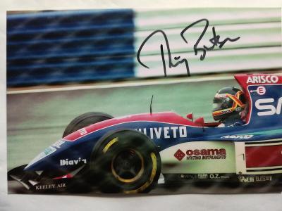 Autogram podpis Boutsen Thierry