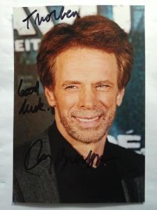 Autogram podpis Bruckheimer Jerry