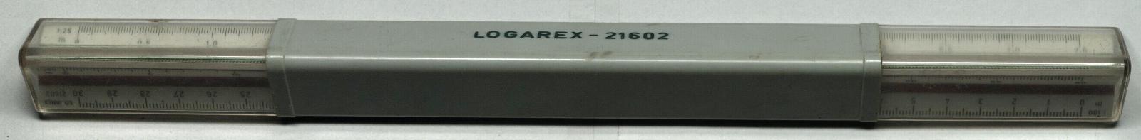 Logarex 21602 -pravítko s měřítky - krásný, dost možná nepoužitý stav - Nářadí
