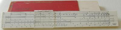 Logarex 27403-II - logaritmické pravítko s pouzdrem