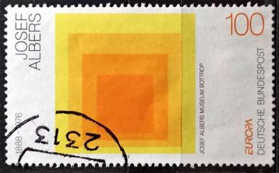 BUNDESPOST: MiNr.1674 Homage to the Square by Joseph Albers 100pf 1993
