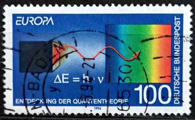 BUNDESPOST: MiNr.1733 Quantum Theory by Max Planck 100pf 1994