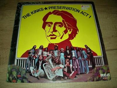 The Kinks – Preservation Act 1 (1973) 1.Press UK ,EX-