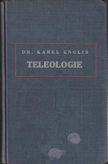 K. Engliš: Teleologie jako forma vědeckého poznání, 1930 - Knihy
