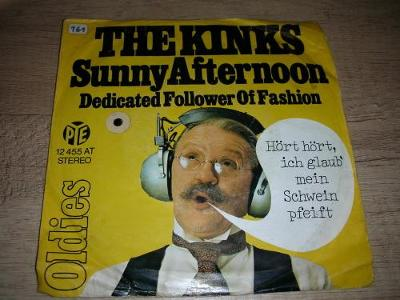 The Kinks – Sunny Afternoon / Dedicated Follow  (19) SP ,1.Press ,EX-