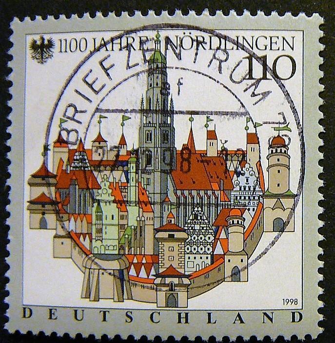 Německo, 1998, Mi 1965 - Filatelie