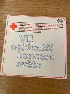 EP - NEJDRAŽŠÍ KONCERT SVĚTA - Zagorová, Vondráčková, Korn, Filipová