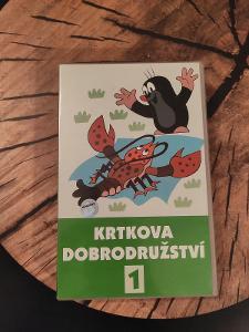 Krtkova dobrodružství 1, VHS