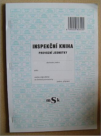 Inspekční kniha pro podnikatele