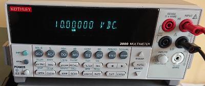 # 6½ místný multimetr KEITHLEY 2000 #