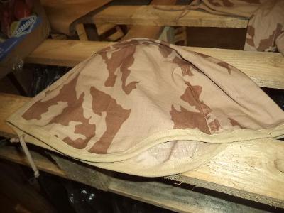 Nový potah na helmu ačr pouštní - béžový potisk vz.95 ripstop