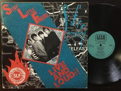 STIFF LITTLE FINGERS live 2LP UK 1988 VG/VG