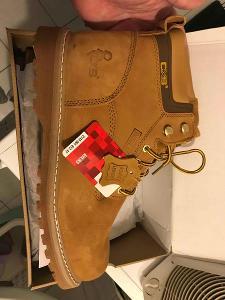 Pracovní/zimní kožené boty vel.47 CXS ROAD AVERS