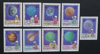 Somálsko 1996 Mi.598-6 16€ Planety Sluneční soustavy, vesmír, kosmos